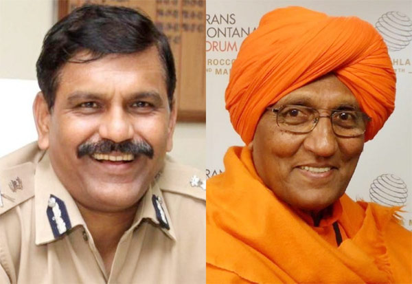 IPS officer, Nageswara Rao, Swami Agnivesh