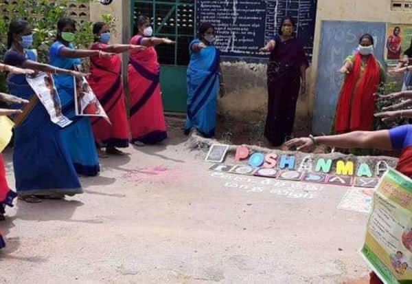 ஆரோக்கியமான வாழ்வுக்கு 'போஷன் மா' விழிப்புணர்வு: சமூக வலைதளத்தில் 'மீம்ஸ்' வெளியிட்டு அசத்தல்