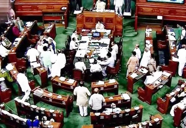 lok sabha, passes bill, MPs salaries cut
