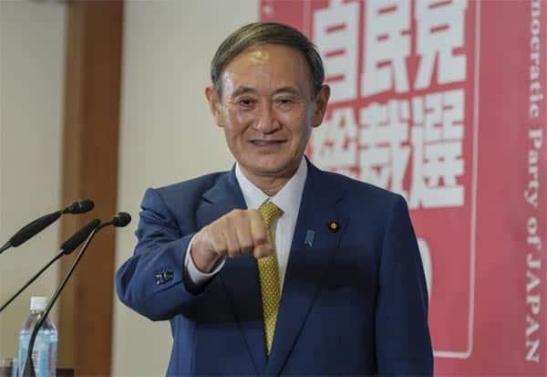 Japan, PM, YoshihideSuga, ShinzoAbe, Resigns, ஜப்பான், பிரதமர், யோஷிஹைட் சுகா