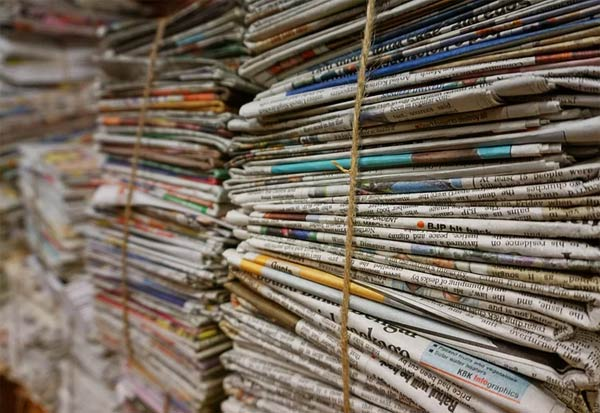 Print media, most credible, source of news, Survey