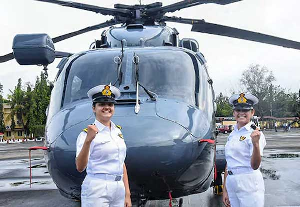 In a first, two Indian Navy women officers set to join warships' crew