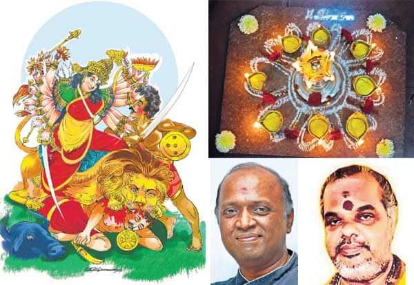 அறிவுக்கு ஆற்றல் தரும் : நவராத்திரி மூன்றாம் நாள்