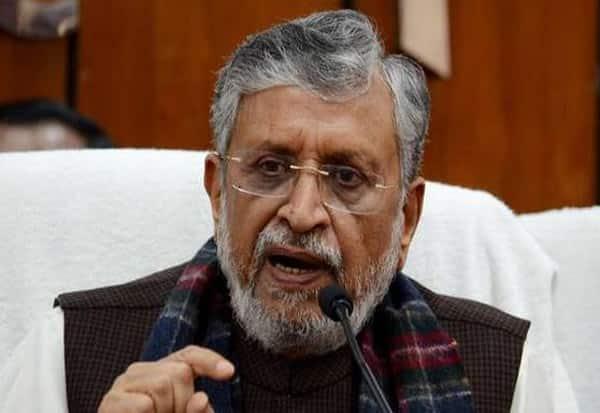 Bihar, DeputyCM, SushilKumarModi, TestsPositive, Covid-19, Admitted, AIIMS, Patna
