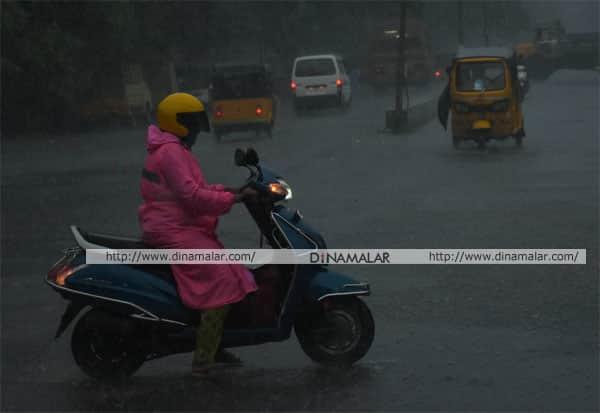 சென்னை, கனமழை