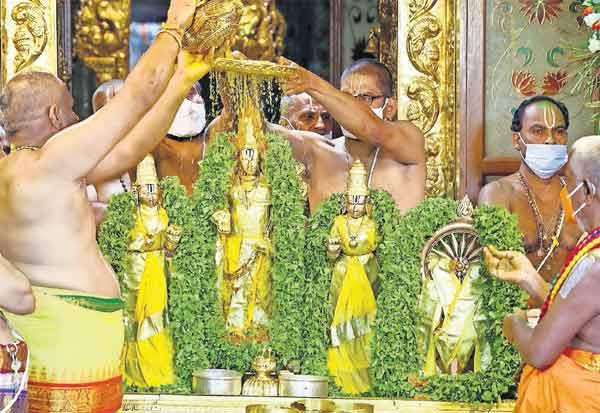 நவராத்திரி பிரம்மோற்சவம் தீர்த்தவாரியுடன் நிறைவு