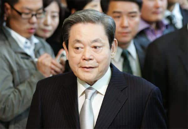 Samsung, LeeKunHee, Dies, சாம்சங், தலைவர், லீகுன்ஹீ, காலமானார்