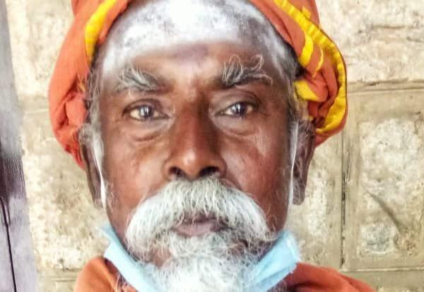 யாசகர், கொரோனா நிதி, மதுரை