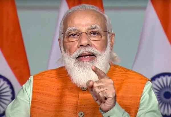 PM Modi, Chief Ministers,y Covid19