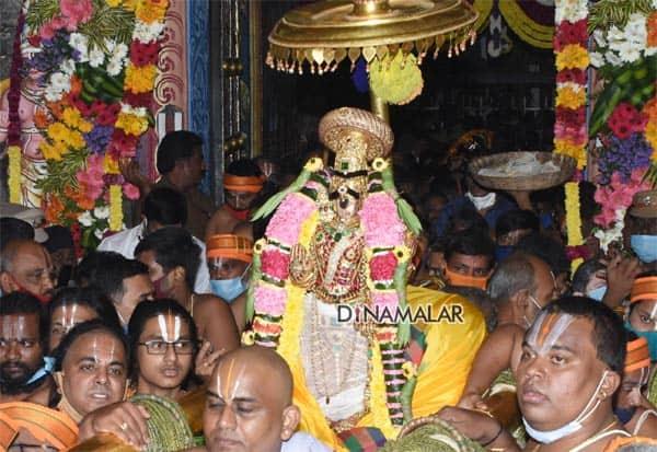 Srirangam, Vaikunta Ekadasi, Sorgavasal Thirappu, festival