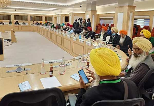 Another round of Centre-farmer talks ends inconclusively, next meeting on Jan 15