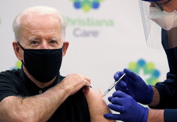 Joe Biden, Second Dose, COVID19 Vaccine