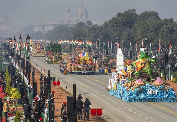 Children, Republic Day, Parade,Pandemic,