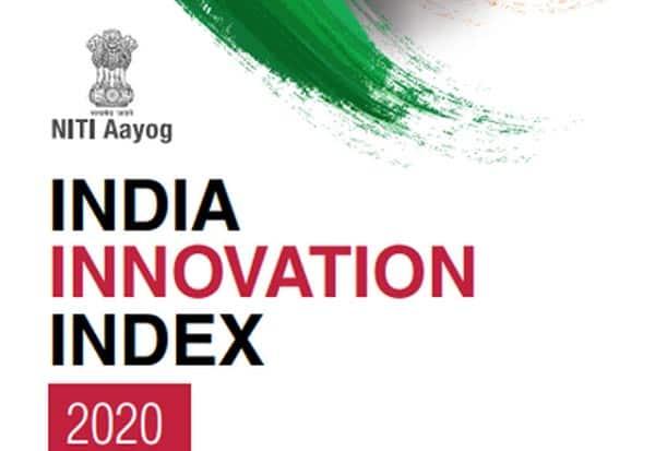Innovation, NITI_Aayog, Tamilnadu, Index, நிடி ஆயோக், தமிழகம்