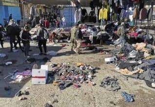 ஈராக்கில் மனித வெடிகுண்டு தாக்குதல்:   28 பேர் பலி