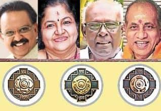 பத்ம விருதுகள்: மத்திய அரசு அறிவிப்பு