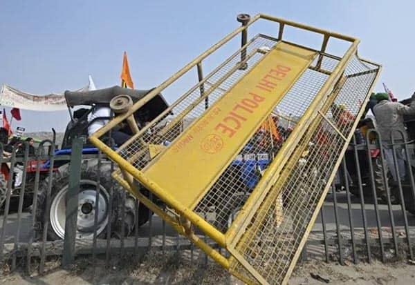 Delhi, sec 144, Farmers Protest, Tractor Rally, டில்லி