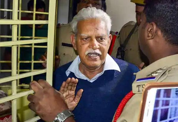 Bhima Koregaon accused Varavara Rao granted interim bail for 6 months by Bombay