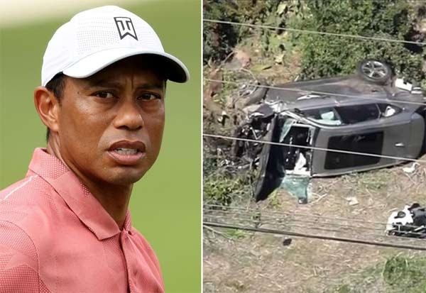 Golfer, Tiger Woods, Car Crash, Surgery