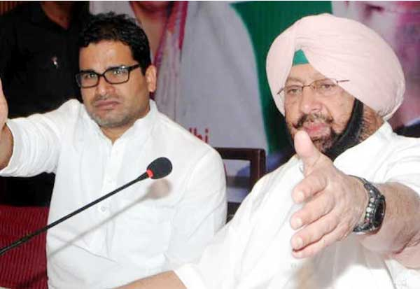 Hoping to repeat 2017 sweep, Punjab CM Captain Amarinder Singh rehires Prashant Kishor for 2022 campaign