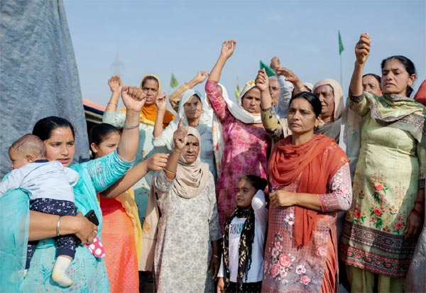 Women, Farmers Protest, TIME magazine