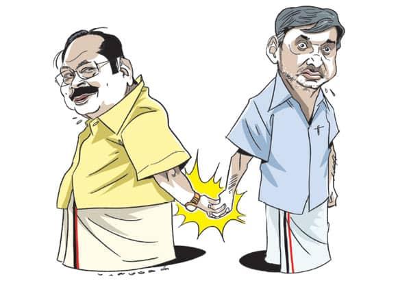 DMK, Durai Murugan, MK Stalin, Stalin, D M Kathir Anand, Kathir Anand