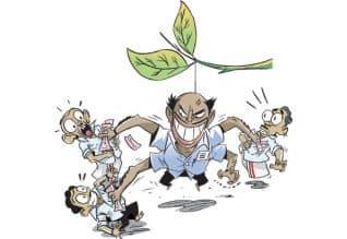 தொகுதிக்கு 3 பேரு; கலெக் ஷன் செம ஜோரு!