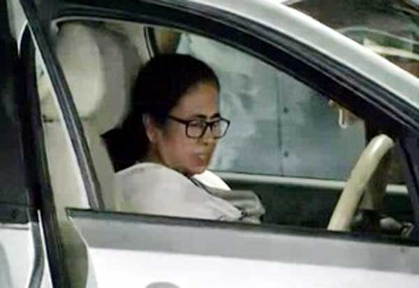 Mamata Banerjee Leaves Hospital In Wheelchair 2 Days After She Was Injured
