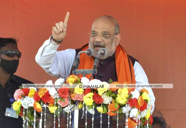 WestBengalElections, Amitshah, Mamata, Nandigram, மம்தா, அமித்ஷா, நந்திகிராம், மேற்குவங்கம்
