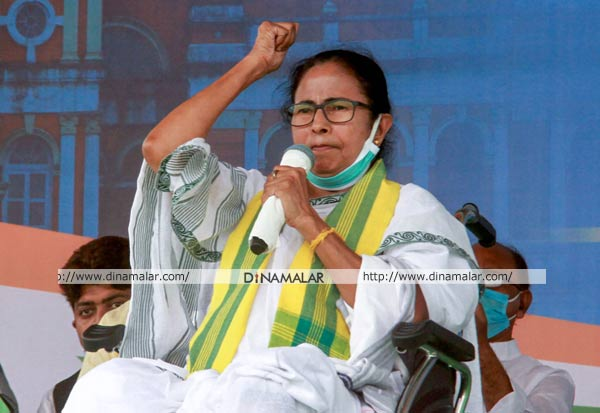 WestBengalElections, MamataBanerjee, Campaign, மேற்குவங்கம், மம்தா பானர்ஜி, பிரசாரம், பாஜக