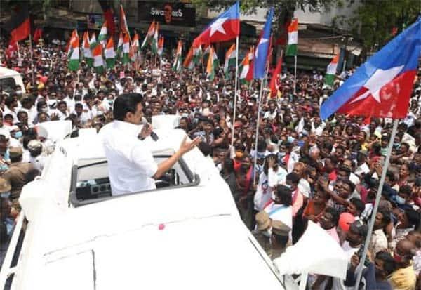 TamilnaduElections, DMK, Stalin, Udhayanithi, Advertisement, தமிழகம், திமுக, ஸ்டாலின், உதயநிதி, பிரசாரம், பொய், விளம்பரம்