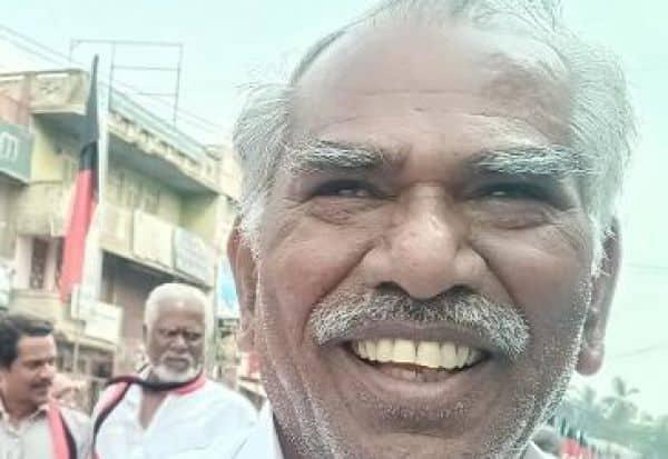 கார் விபத்தில்தி.மு.க., பிரமுகர் பலி
