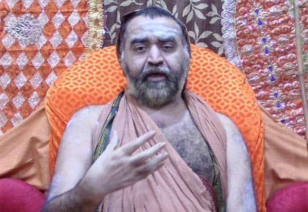 கோயில் அடிமை நிறுத்து, விஜயேந்திர சரஸ்வதி சுவாமிகள், ஆதரவு