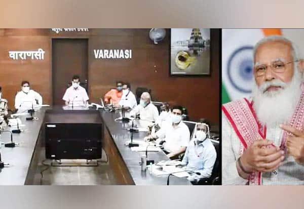 வாரணாசியில் கொரோனா: பிரதமர் ஆலோசனை