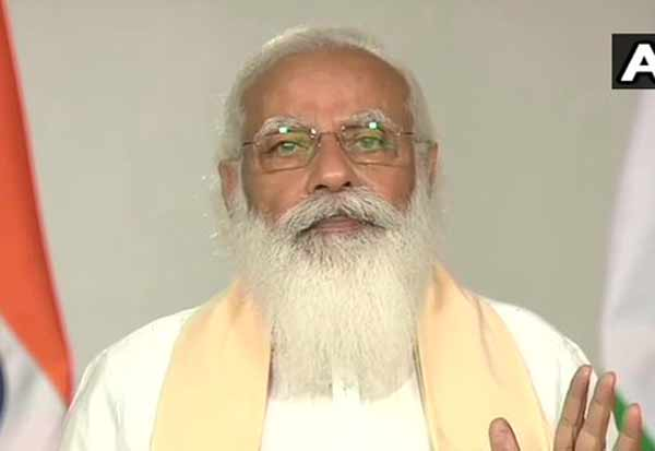 Prime Minister Narendra Modi will address the nation on the COVID-19 situation at 8:45 this evening மக்கள், கொரோனா இரண்டாம் அலை,முறியடிக்கலாம்,  மோடி உரை