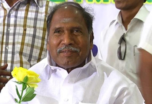 N Rangaswamy, AINRC, BJP