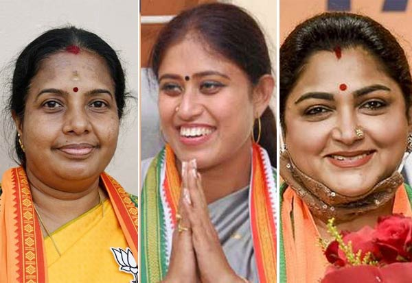 TN election results, ladies, Political Parties
