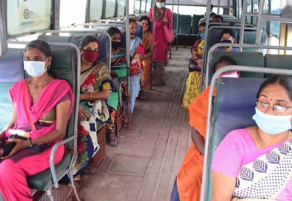 சாதாரண கட்டண பஸ்கள் அதிகரிப்பு: இலவச பயணத்துக்கு பெண்கள் வரவேற்பு    Dinamalar Tamil News