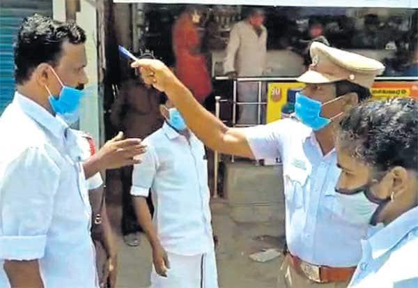 DMK, SI, Sub Inspector, திமுக, வாக்குவாதம், ஆயுதப்படை, மாற்றம்