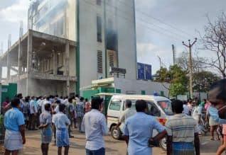 கடலூர் சிப்காட் தொழிற்சாலையில் தீ விபத்து; 4 பேர் பலி