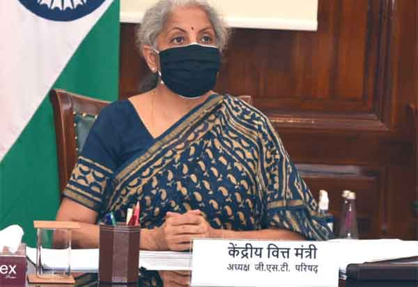 GSt, Nirmala sitharaman, Finance Minister, FM,