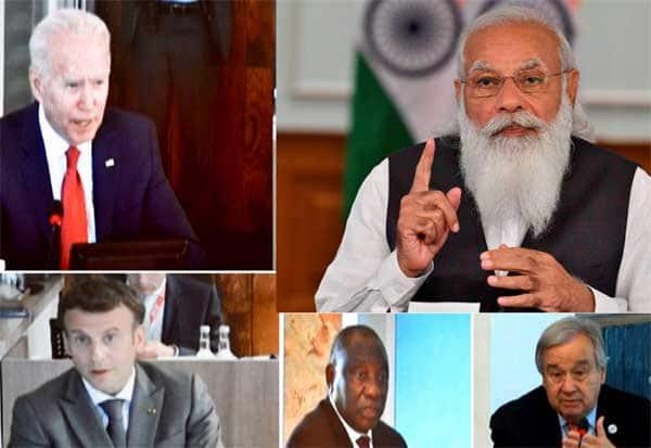 PM Modi, G7 summit, Modi, ஒரே பூமி, ஒரே ஆரோக்கிய முறை, மோடி,ஆலோசனை