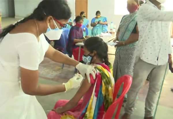Record number,  people, vaccinate, Andhra Pradesh,ஆந்திரப் பிரதேசம்,ஆந்திரா, தடுப்பூசி