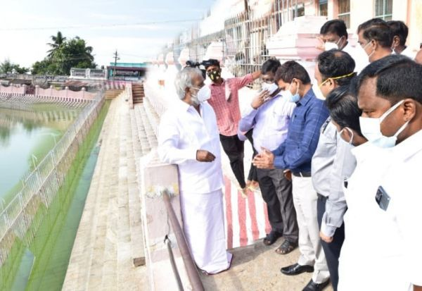 500 கோடி ரூபாய் மதிப்பிலான, 79.9 ஏக்கர் கோவில் நிலம் மீட்பு: சேகர்பாபு