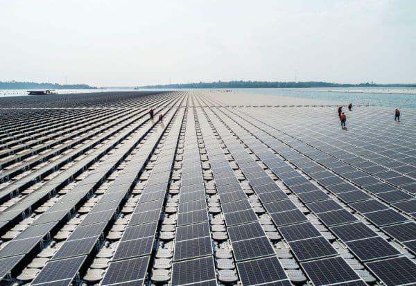 Singapore, Solar Floating Farms, Tengeh Reservoir
