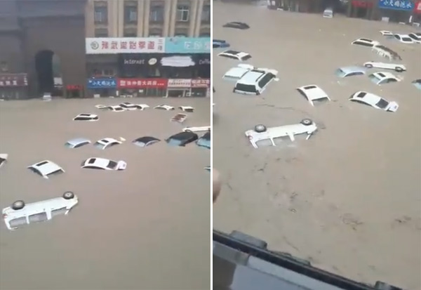 China, Floods, Dead, சீனா, கனமழை, வெள்ளம்