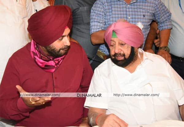Punjab, Sidhu, Amarinder Singh, Meet, Newly Appointed, Congress Chief, Punjab CM, Punjab Bhawan