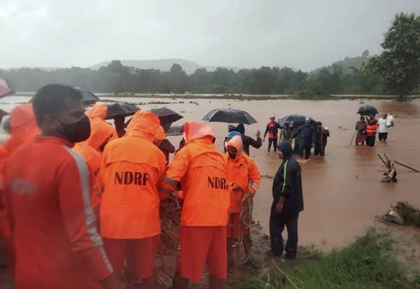 Maharashtra, Raigad, Landslides, Dead, Several Missing; Rescue, மஹாராஷ்டிரா, கனமழை, நிலச்சரிவு, உயிரிழப்பு