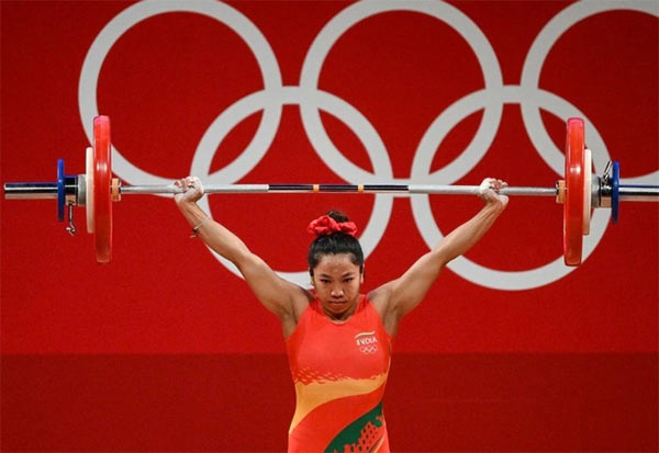 mirabai_chanu, India's 1st, Congratulations India, Cheers4India, Proud Moment,Tokyo2020,   Weightlifting: First place medal Women's 49 kg