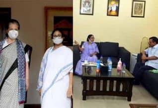சோனியா , கெஜ்ரிவாலுடன் மம்தா சந்திப்பு